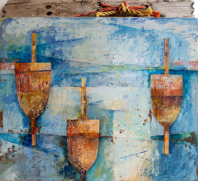 driftwood buoy
